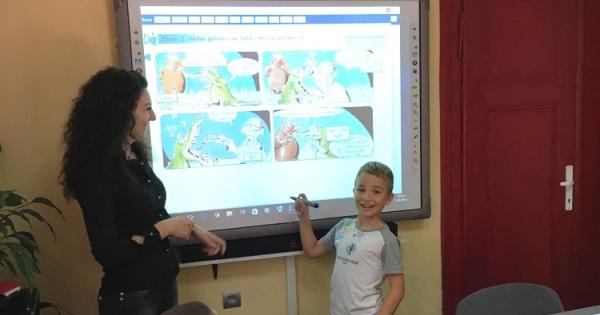 Мултимедийно обучение по английски, немски и френски език